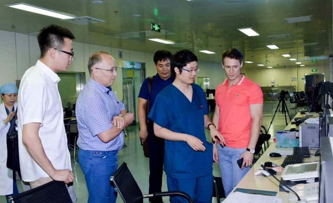 Амурский хирург выступил на ХII научно-исследовательском кардиологическом конгрессе в Харбине