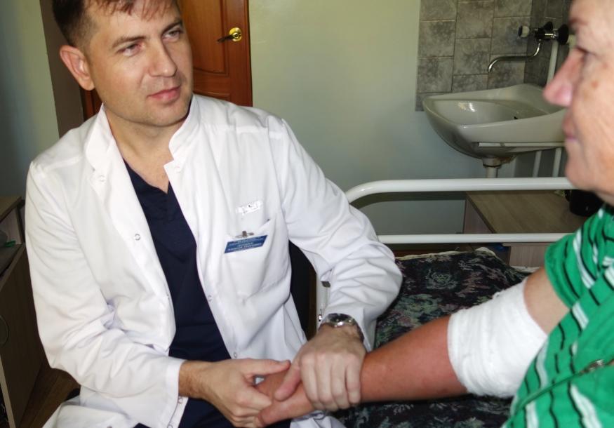 Выездная работа врачебных бригад