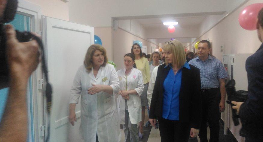 В Свободненской больнице после капитального ремонта открыли отделение гинекологии