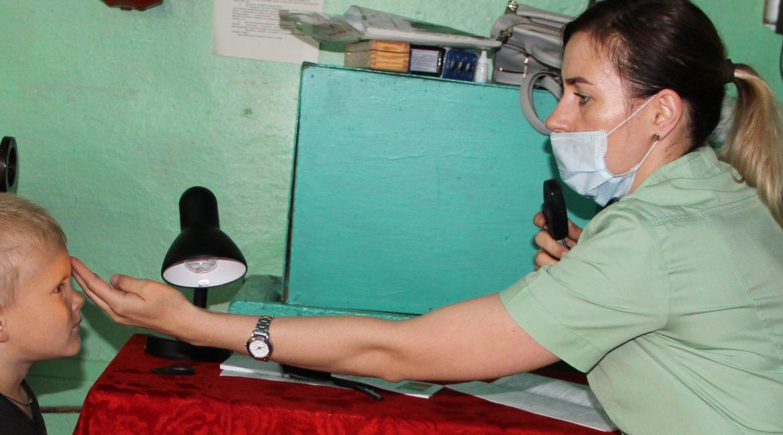 Дети из Архаринского района прошли комплексное медицинское обследование в рамках проекта «Путь к здоровью»