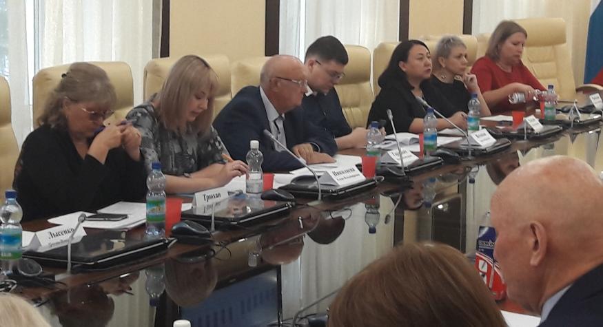 Вчера состоялось очередное совместное заседание Общественного совета и Общественного совета по НОК