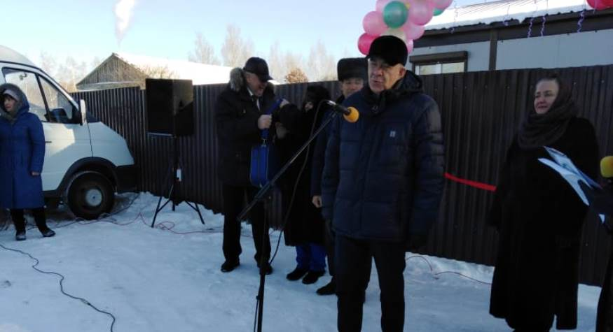 В Братолюбовке Ромненского района открыт новый ФАП – его не было в селе более 20 лет