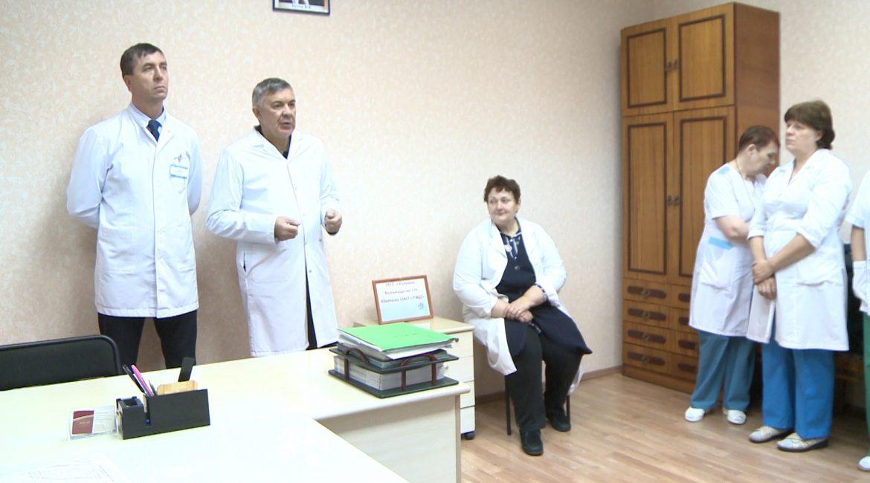 Министр здравоохранения Приамурья побывал в больнице пос. Юктали Тындинского района