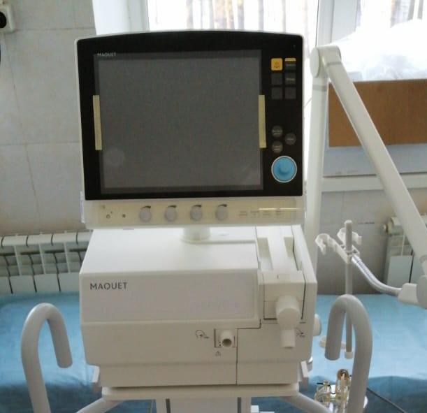 В Зейскую больницу поступил новый аппарат ИВЛ из средств нормированного страхового запаса ОМС