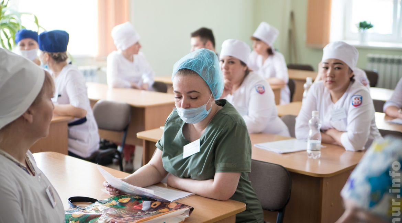В Амурском медицинском колледже прошел конкурс профессионального мастерства среди средних медработников учреждений здравоохранения, расположенных в Благовещенске