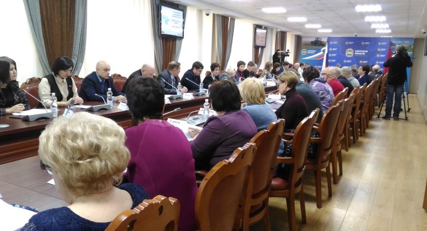 Вчера состоялось очередное заседание Общественного совета при министерстве здравоохранения Приамурья