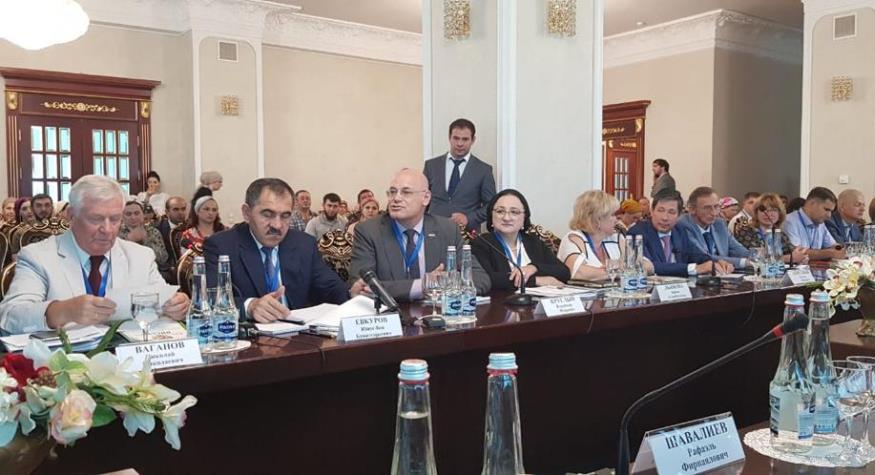 Руководитель АОДКБ принял участие во Всероссийской конференции главврачей детских больниц в Ингушетии
