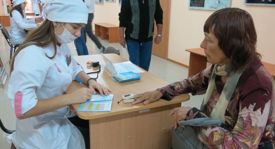 В Амурском медколледже прошла акция ко Дню пожилого человека