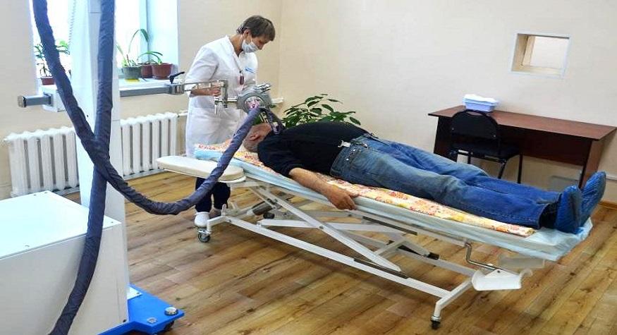 Онкодиспансер получил новый аппарат для рентгенотерапии