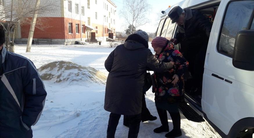 В рамках проекта «Старшее поколение» учреждения здравоохранения проводят медосмотры пожилых сельчан