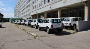 20 новых высокопроходимых автомобилей «Нива» закупили для нужд медицинских учреждений Приамурья