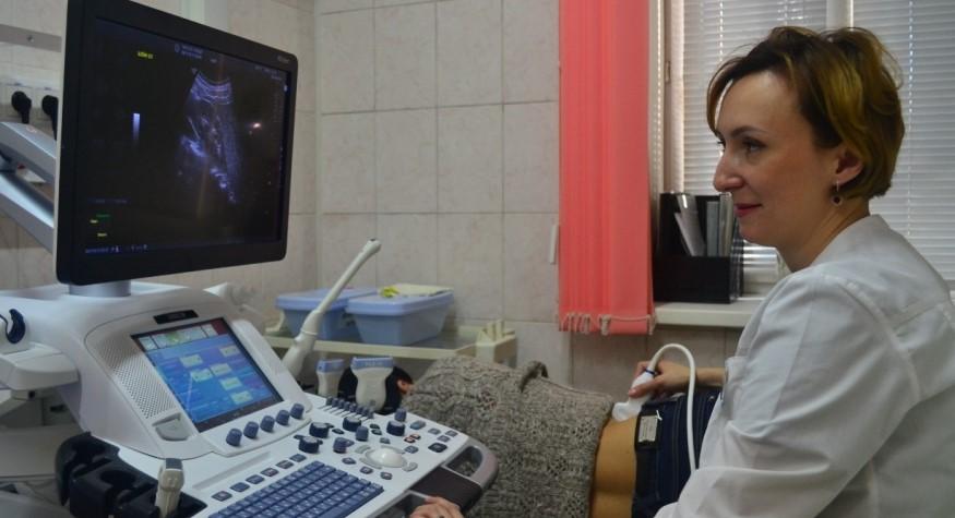 На аппарате УЗИ экспертного класса в онкодиспансере проведены исследования тысячам амурчан