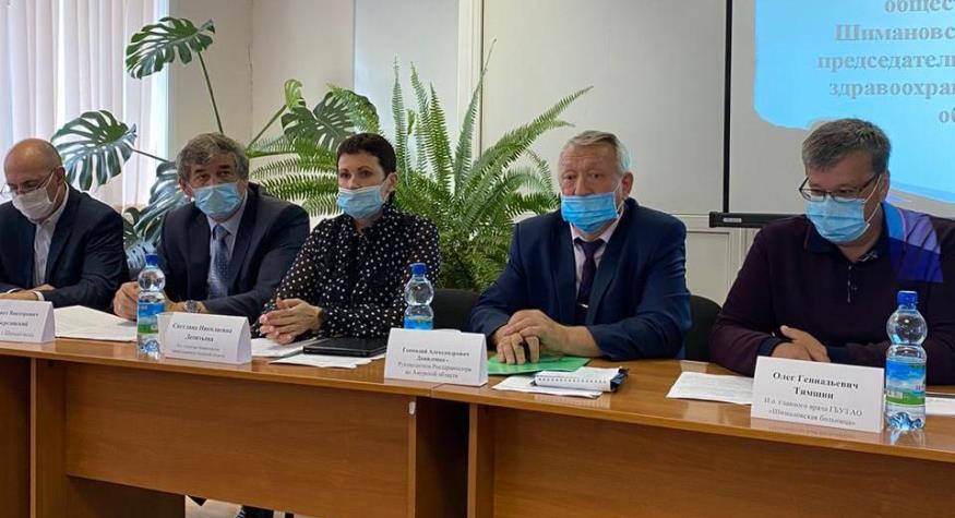 Минздрав провел выездную работу в Шимановской больнице