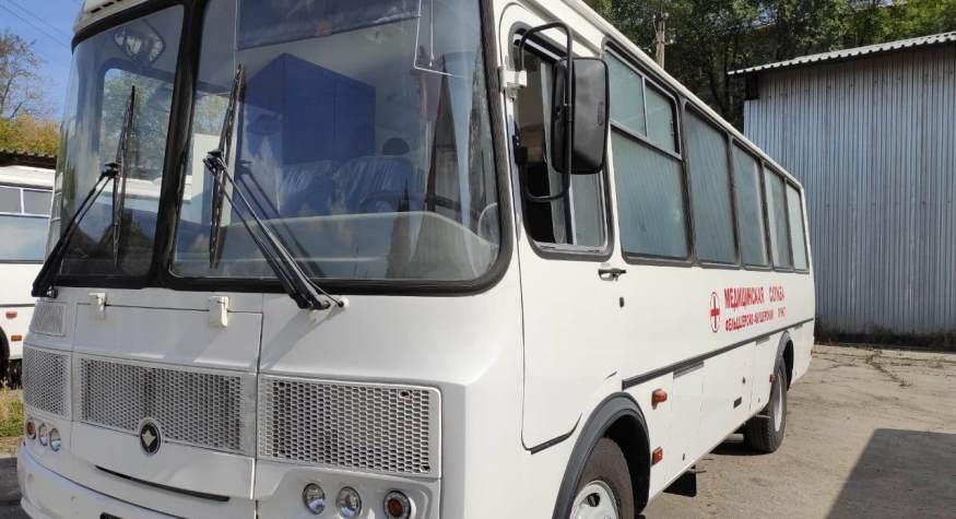 В Приамурье поступили первые 5 мобильных медицинских комплексов