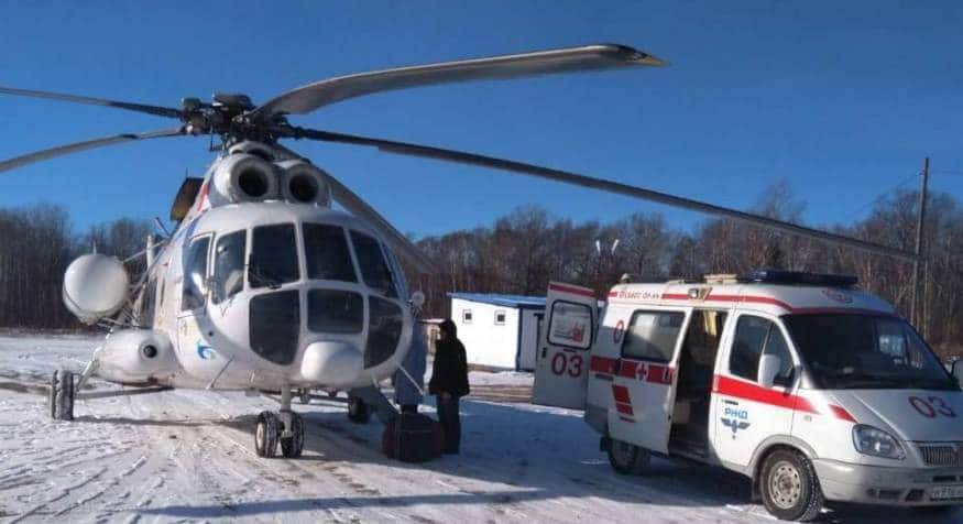 270 пациентов доставила санавиация в больницы Амурской области за полгода