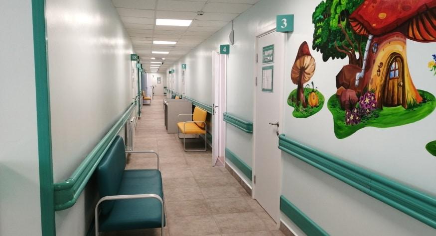 Детская поликлиника №1 возвращается в обновленное здание