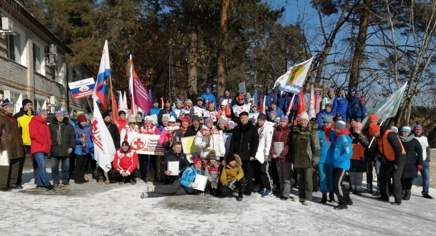 Команды Зейской и Константиновской больниц стали чемпионами: амурские медики соревновались на лыжне